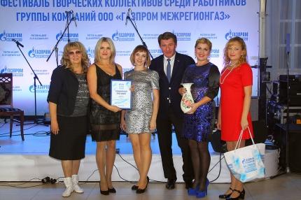 Танцевальный квартет ООО «Газпром газораспределение Ульяновск»